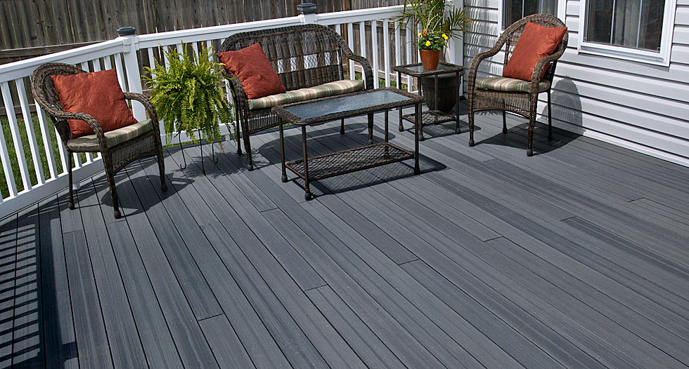 Outsiders home for Envision decking